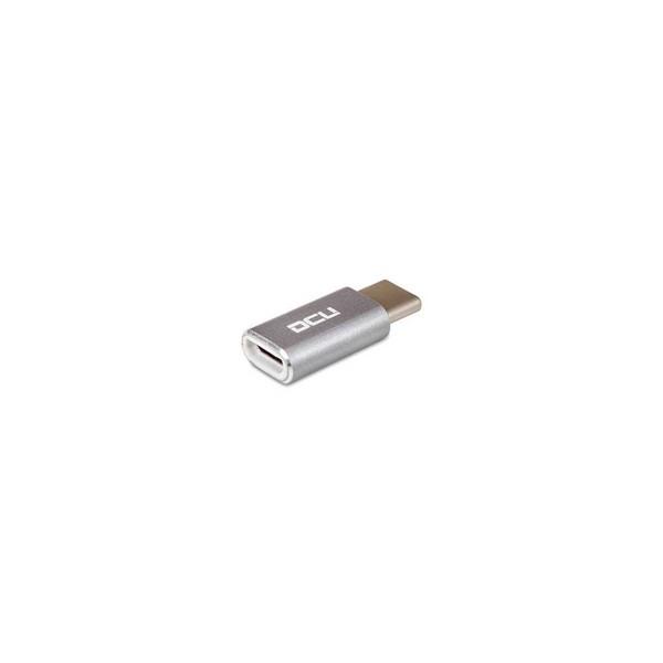 Dcu adaptador usb micro usb a usb tipo c