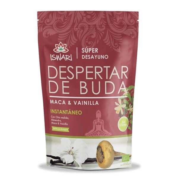 ISWARI SUPER DESAYUNO DESPERTAR DE BUDA MACA & VAINILLA 360 G