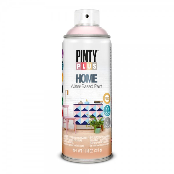 Pintura en spray pintyplus home 520cc light rose hm117